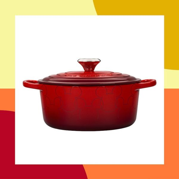 Mickey Mouse Dutch Ovens Are the Latest Le Creuset Launch We Can't Get Enough Of