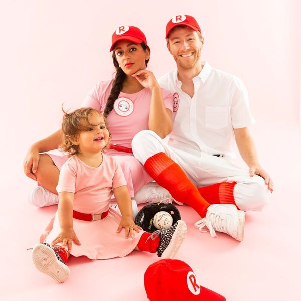 Hit a Home Run with This 'A League of Their Own' Family Costume