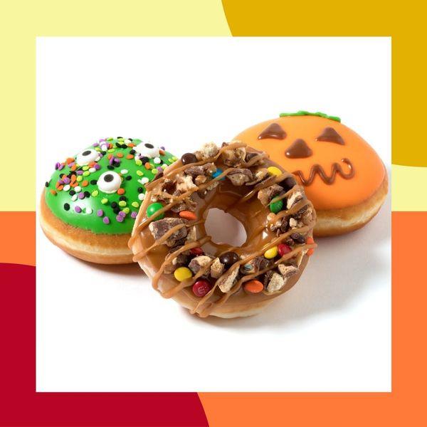 Krispy Kreme's New Halloween Donut Has Us in Major Trick-or-Treat Mode