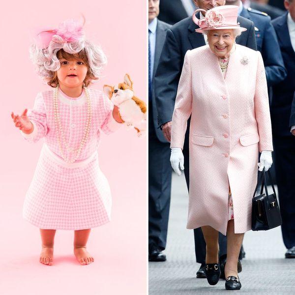 This Queen Elizabeth Toddler Costume Is Definitely Crown-Worthy