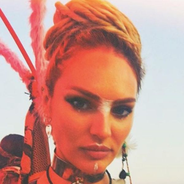 Check Out the Wildest Celebrity Looks from Burning Man 2017