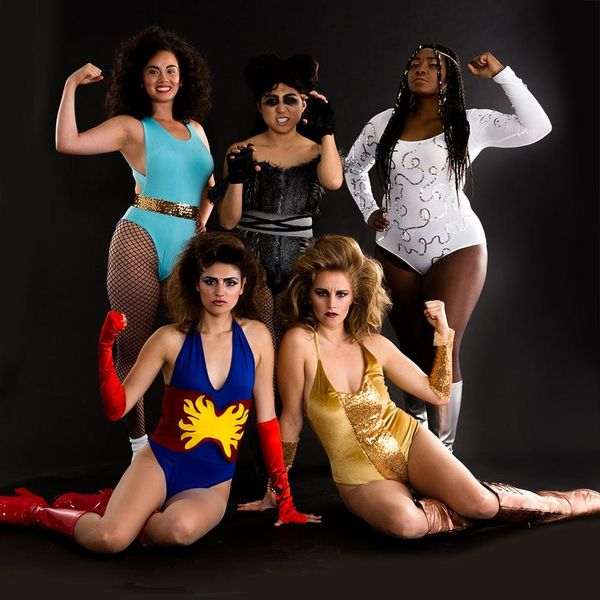 Have a Knockout Halloween With This GLOW Group Halloween Costume