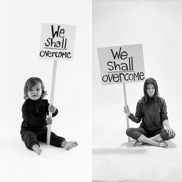 Channel Gloria Steinem With This Feminist Baby Halloween Costume