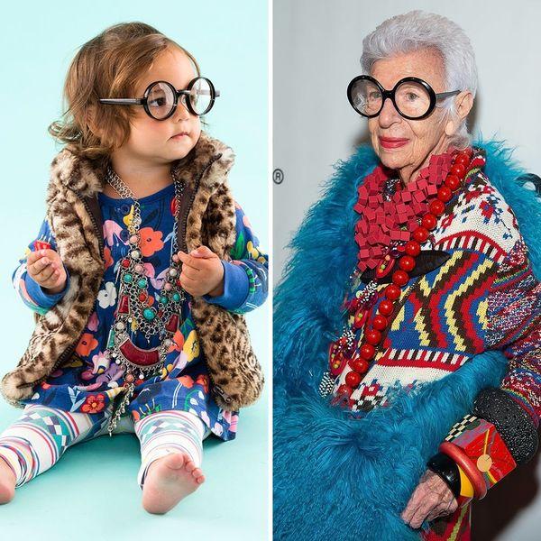 Dress Your Toddler as Style Icon Iris Apfel This Halloween