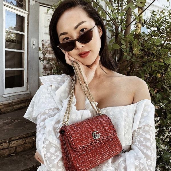 Chriselle Lim on the Red Bag That People Always Ask Her About