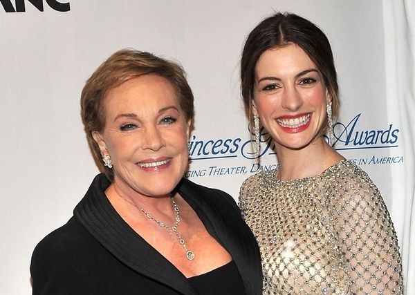 Anne Hathaway's Birthday Message to 'Princess Diaries' Costar Julie Andrews Is Fit for a Queen