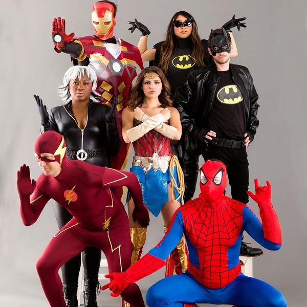 The Ultimate Superhero Halloween Costume Showdown: DC vs. Marvel