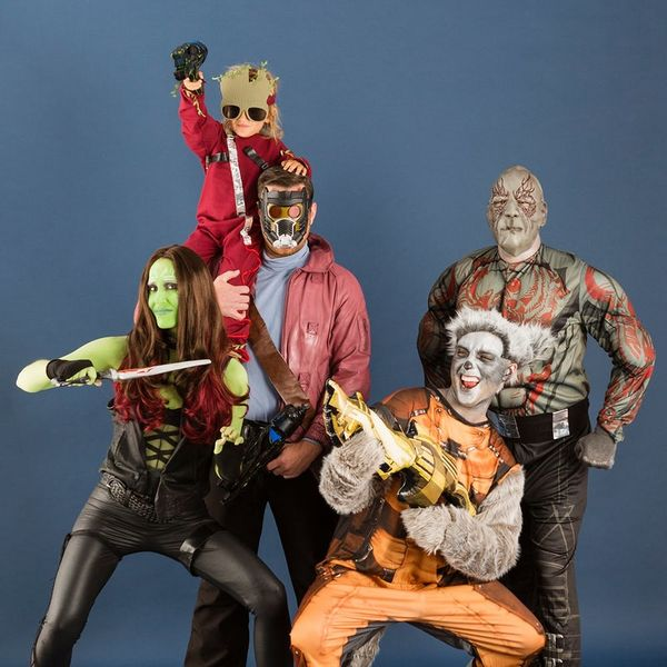 Our Guardians of the Galaxy Group Costume Is Out-of-This-World