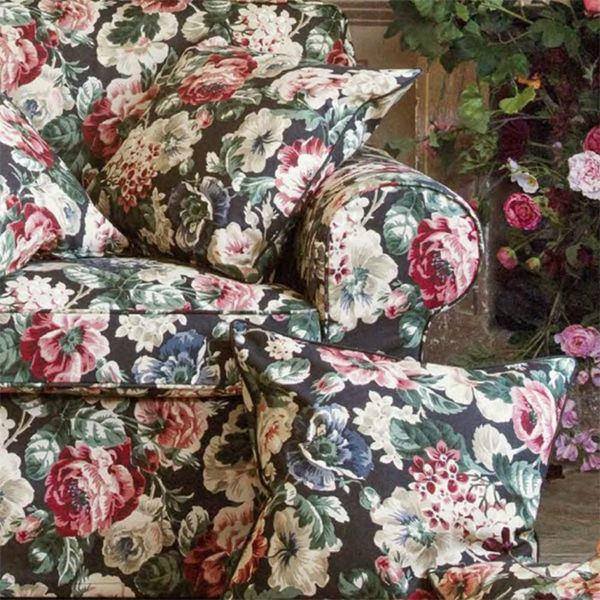 IKEA Just Released a Floral Couch That's Totally Grandma-Approved