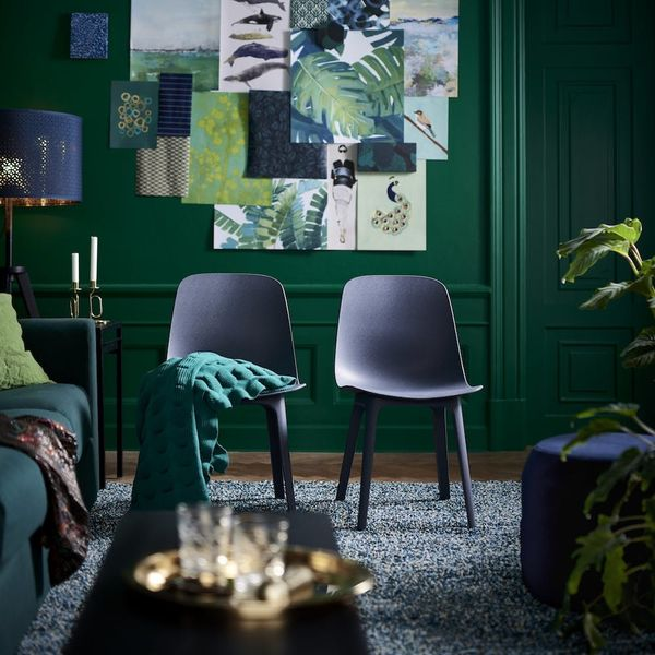 Sneak Peek! IKEA's 2018 Catalog Is All About Those Moody Colors