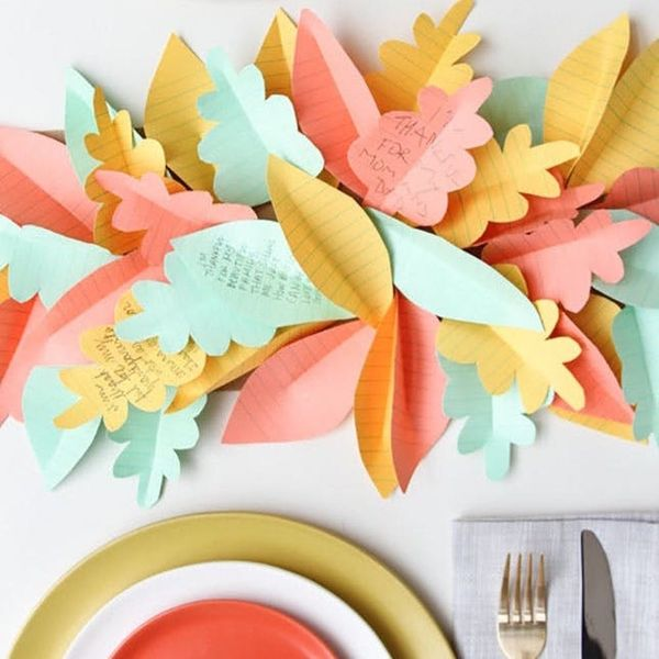 15 Totally Easy Last-Minute Thanksgiving Decorations