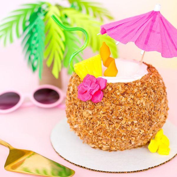 Piña Colada Cake, Tassel Hats, and More DIYs to Make This Weekend