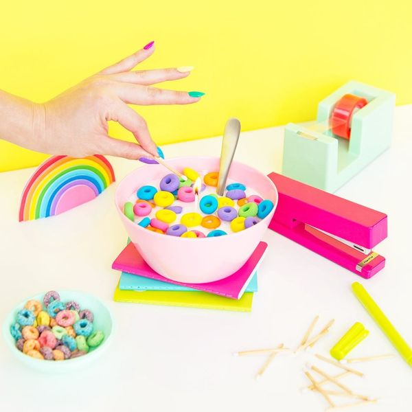Cereal Bowl Candles, a Gelato Cooler, and More Summer Crafts to Make This Weekend