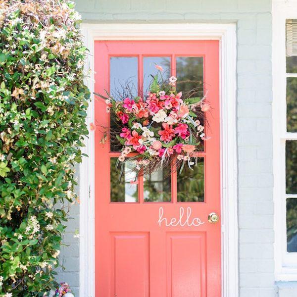 24 Door Decor Ideas to Rock This Summer