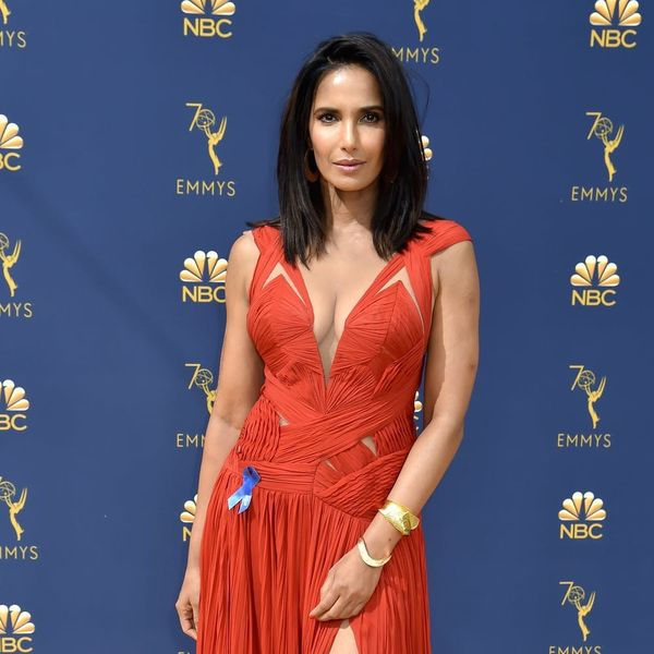 Padma Lakshmi Recycled Her Emmys 2018 Dress for This Powerful Reason