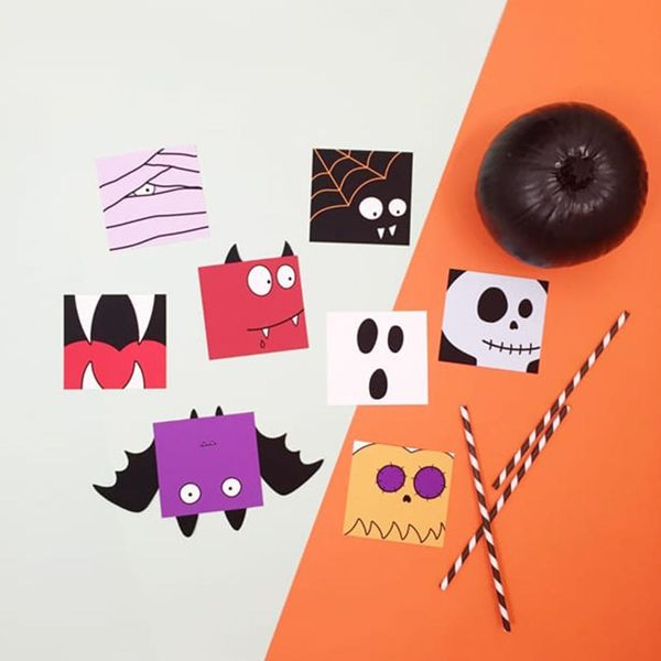 16 Fun and Adorable Halloween DIY Crafts for Kids