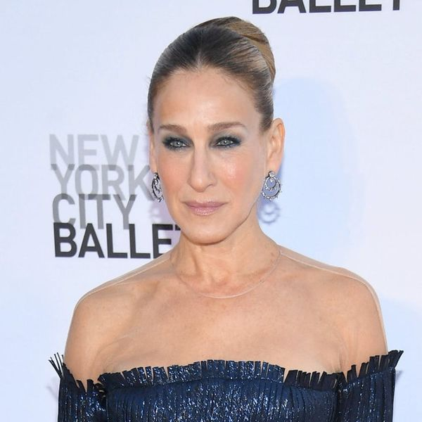 Sarah Jessica Parker Is Officially Rocking Sideswept Bangs