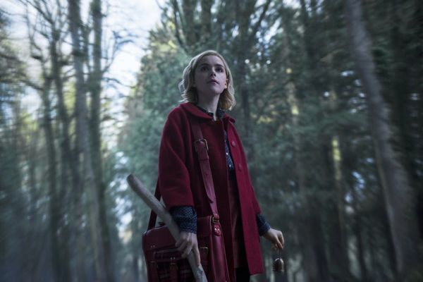 Kiernan Shipka Doesn't 'Get Along With' the Cat Playing Salem in 'Chilling Adventures of Sabrina'