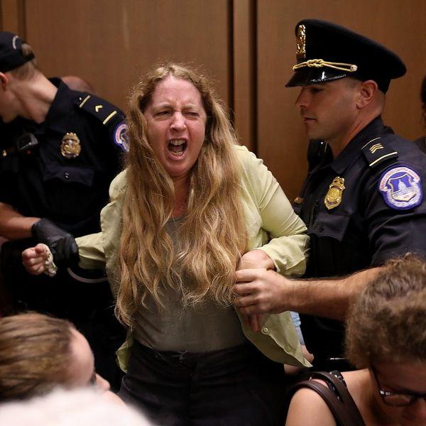 Brett Kavanaugh Supreme Court Hearings Off to a Tense, Frenzied Start