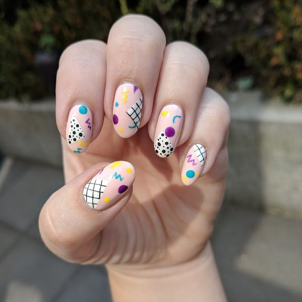 12 '80s Nail Art Ideas to Round Out Your End-of-Summer Style
