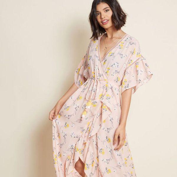 12 Romantic Maxi Dresses That Will Breeze Through Fall