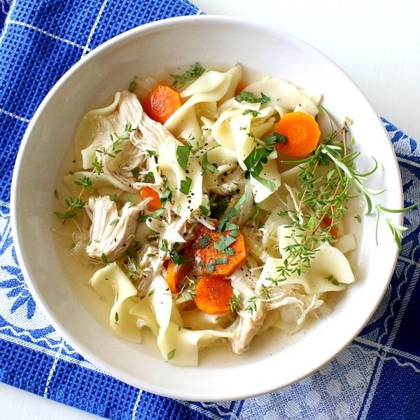 Slow-Cook Comfort With This Chicken Noodle Soup Recipe