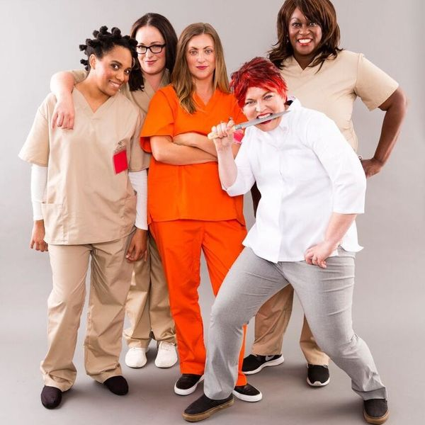 Get Your Crew Together for an 'Orange Is the New Black' Group Halloween Costume