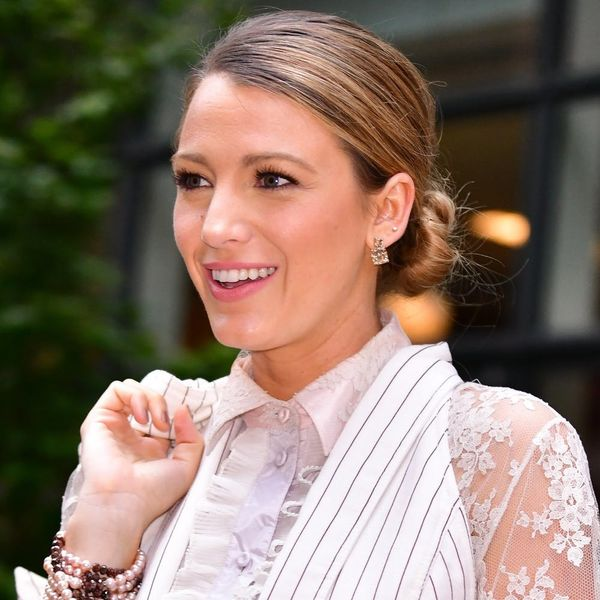 Blake Lively's Press Tour Hair Is a Lesson in Office-Appropriate, Not-Basic Hairstyles