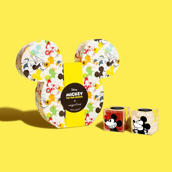 Sugarfina's New Mickey Mouse Candy Collection Will Inspire You to Whistle Like Steamboat Willie