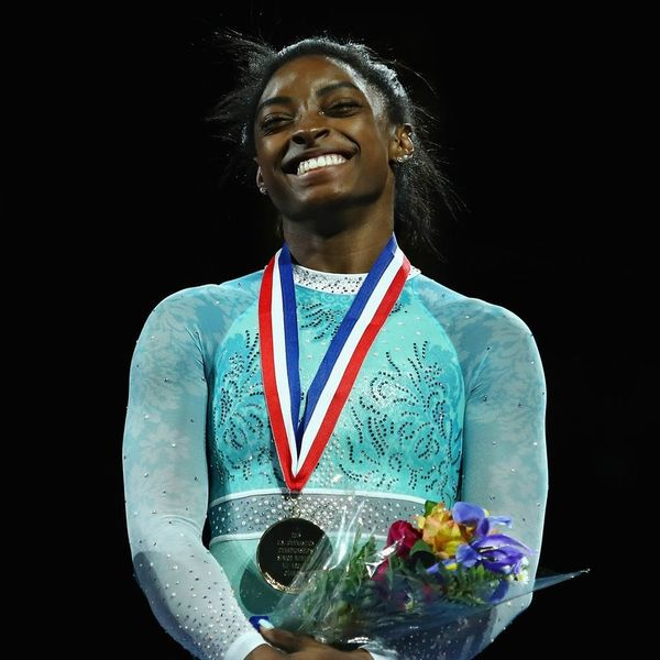 Simone Biles Just Made History in a Leotard for Sexual Abuse Survivors