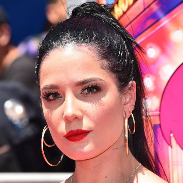 Halsey Ditches the Wigs to Show Off Her Natural Hair