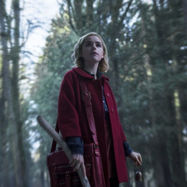 Here's Your Spooky First Look at Kiernan Shipka in Netflix's 'Chilling Adventures of Sabrina'