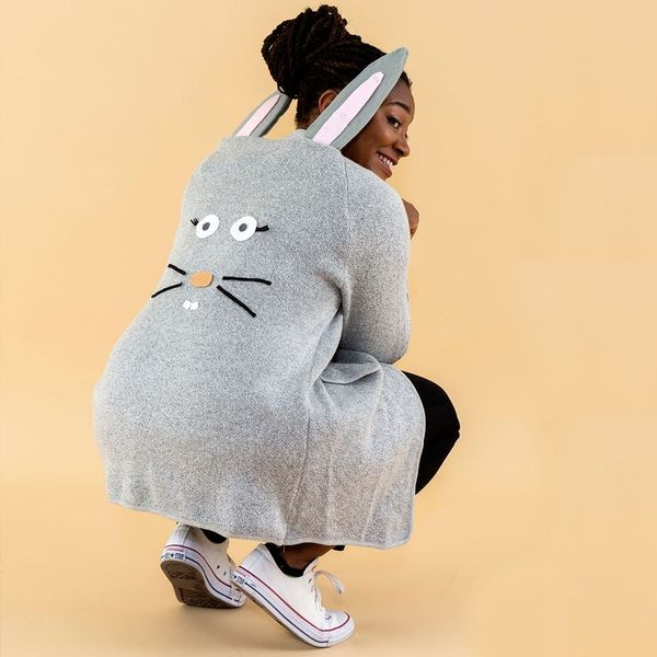 Hop Your Way Through Halloween With This Simple Bunny Costume