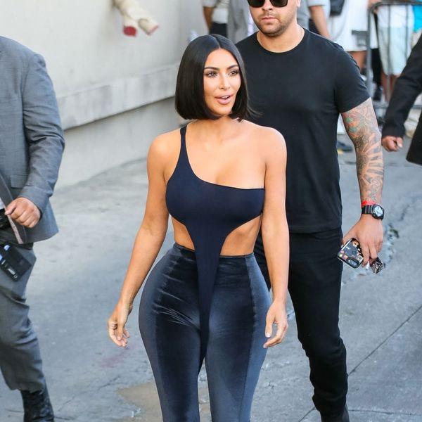 Kim Kardashian West's Latest Outfit Takes Velour to a Whole New Level