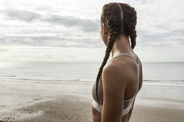 How to Care for Braids at the Beach