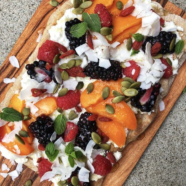 Grilled Dessert Pizza Might Be the Easiest Recipe Ever