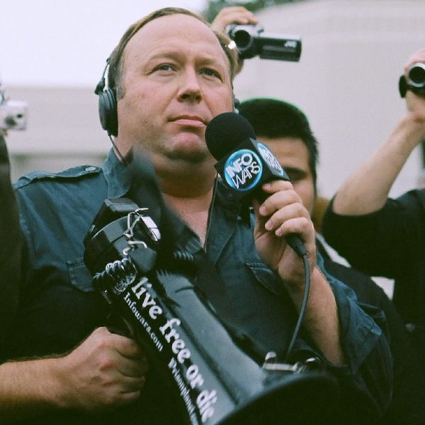 If You're Tired of Seeing the Words 'Fake News,' Here's What Facebook's Alex Jones Ban Means for Your Sanity