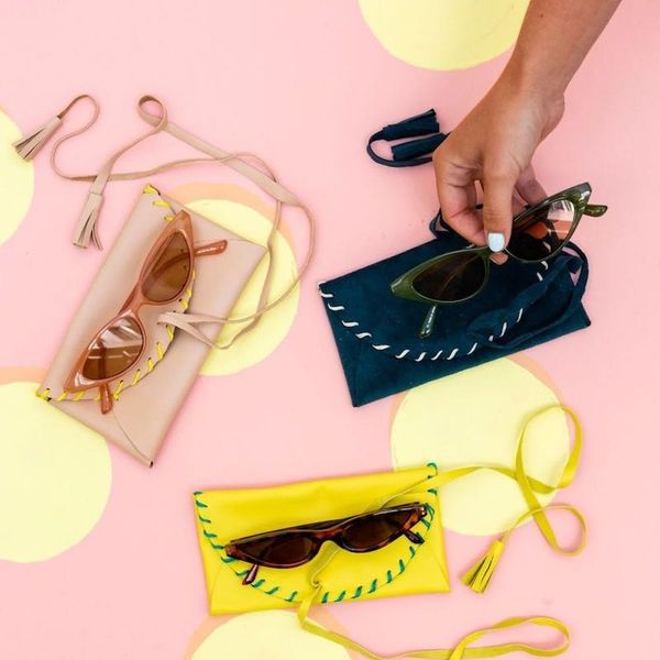 Create a Stylin' Leather Case for Your Favorite Sunnies