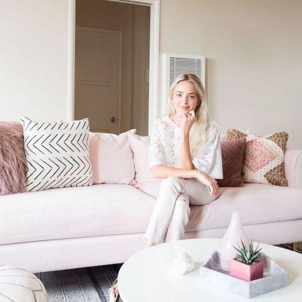 A Look Inside Kaitlynn Carter's Feminine LA She Shed