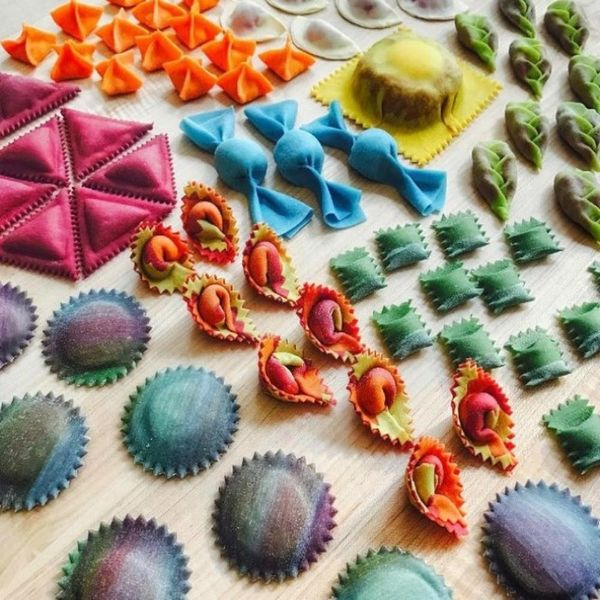 This Rainbow Pasta Instagram Feed Will Brighten Your Day