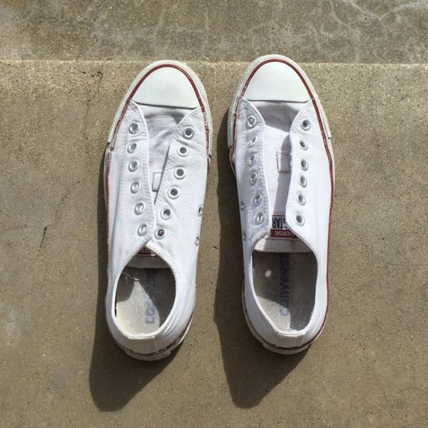 This Viral Tweet Shows Exactly How to Make White Shoes Look New Again