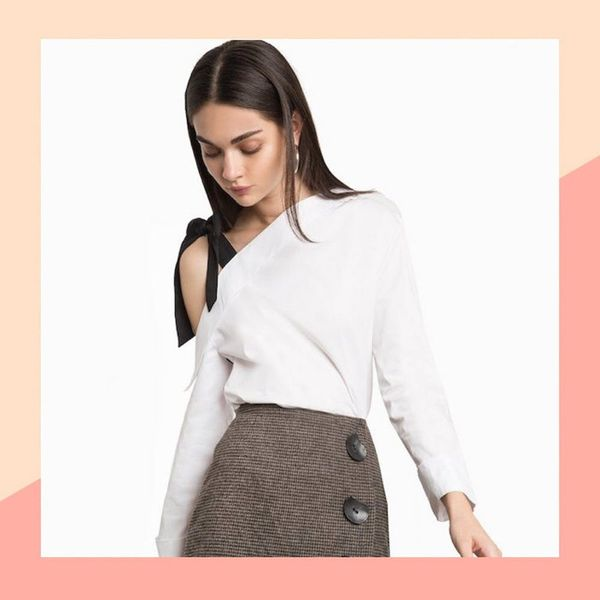 10 Shoulder Tie Tops for the Ultimate Cold Weather Date Night