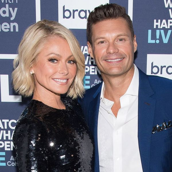 """Kelly Ripa and Ryan Seacrest Face Off As """"Game of Thrones"""" Enemies for Halloween Special"""
