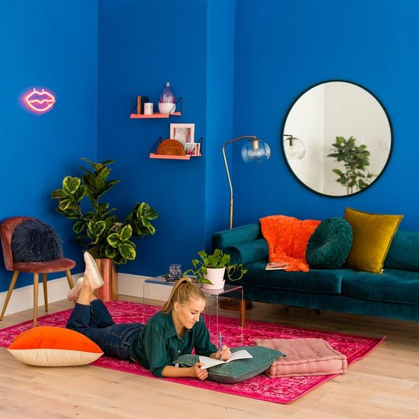 Before + After: A Jewel-Toned Small Space Makeover You Need to See
