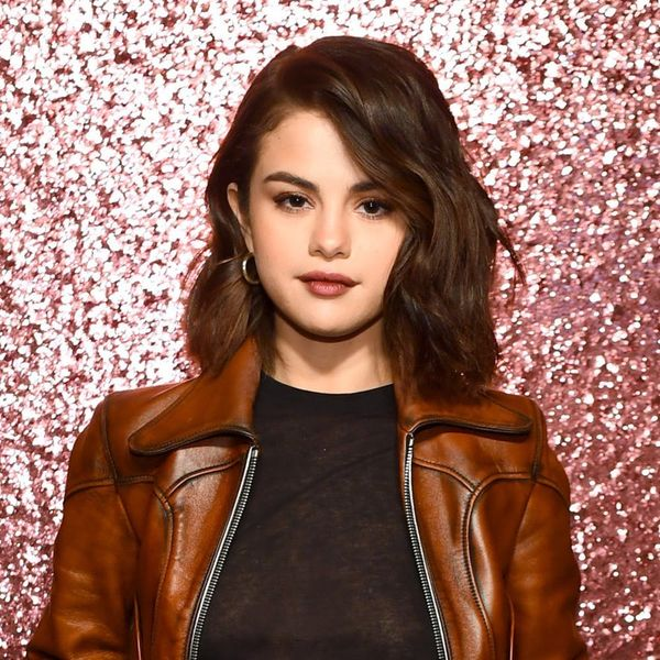 Selena Gomez's Secret to the Perfect Cat Eye Is… Highlighter?
