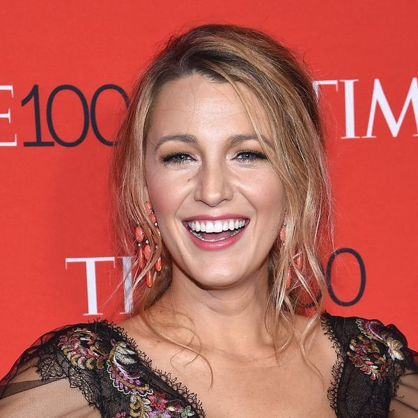 Blake Lively Debuts Lob Hairstyle on the Red Carpet