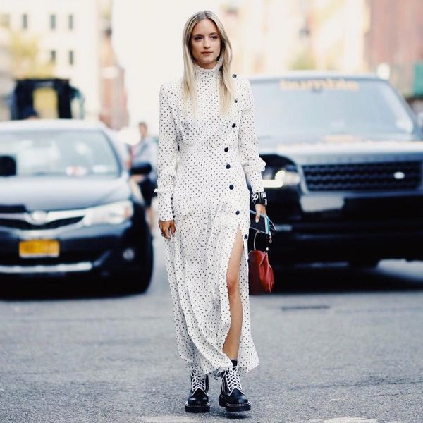 The It-Girl's Guide to Pairing Boots With Dresses This Fall