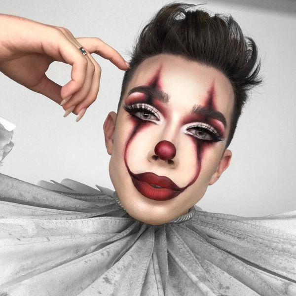 """James Charles' Pennywise Tutorial Sparked Insane Drama With """"It"""" Cast"""