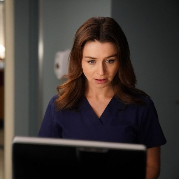 """""""Grey's Anatomy"""" Star Caterina Scorsone Had a Surprising Reaction to Her Character's Brain Tumor Diagnosis"""