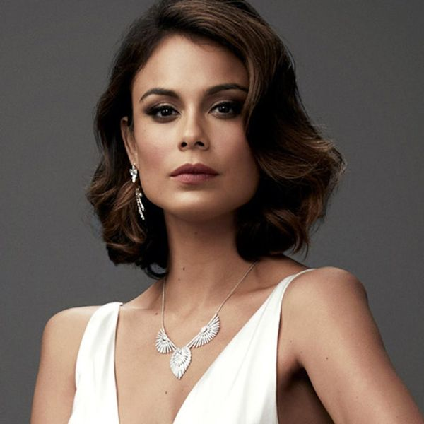 Dynasty's Nathalie Kelley Teases the Skeletons in Cristal's Closet